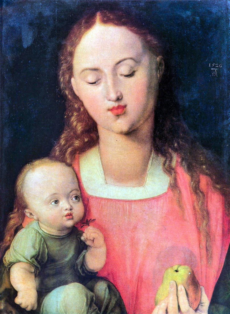 The Virgin and Child [1] - Durer